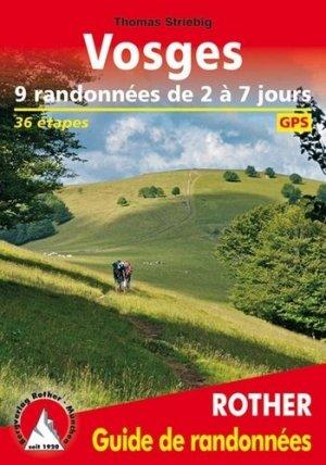 Vosges. 9 randonnées de 2 à 7 jours - Rother - 9783763349593 -