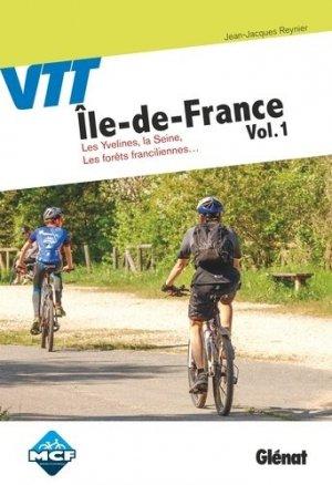 VTT en Ile-de-France - Glénat - 9782344032404 -