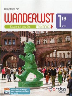 Allemand 1re A2/B1 Wanderlust - Bordas - 9782047336410 -
