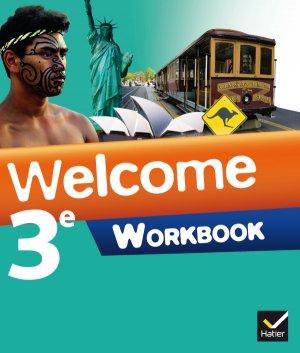 Welcome Anglais 3e : Workbook - hatier - 9782218968273 -