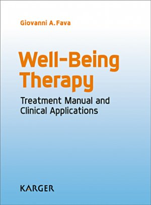 Well-Being Therapy - karger  - 9783318058215 -