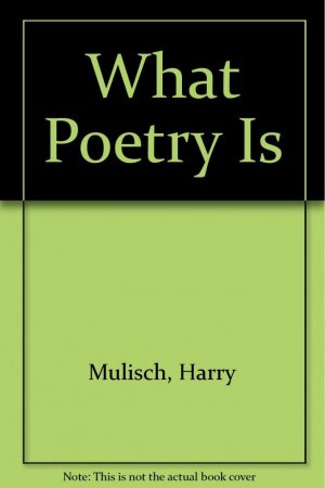 What Poetry Is - cross cultural - 9780893048082 -