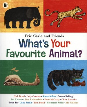 WHAT'S YOUR FAVORITE ANIMAL  - walker books - 9781406360004 -
