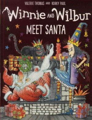 Winnie and Wilbur Meet Santa - oxford - 9780192747921 -