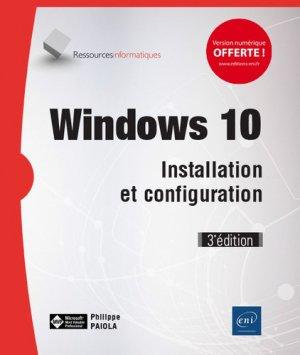 Windows 10 - eni - 9782409019241