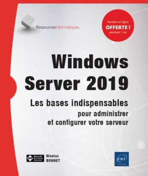 Windows server 2019 - eni - 9782409019678 -