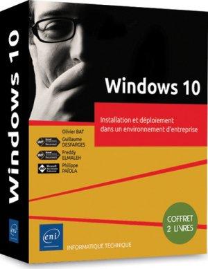 Windows 10 - coffret de 2 livres - eni - 9782409019746 -