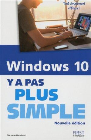Windows 10 - First - 9782412016084 -