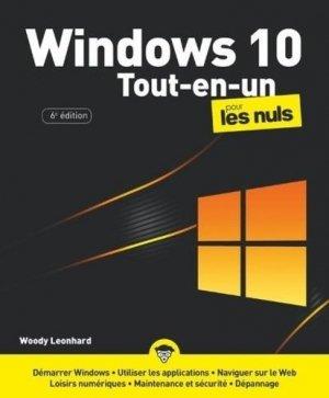 Windows 10 tout en 1 pour les nuls - First - 9782412061831 -