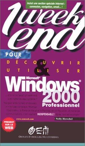 Windows 2000 - osman eyrolles multimedia - 9782746401600 -