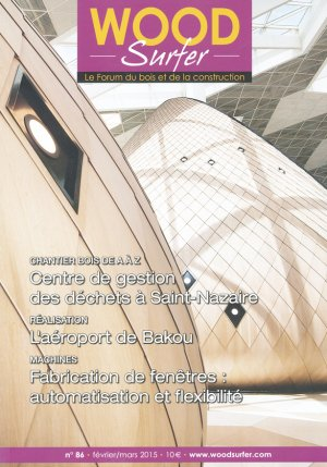 Wood surfer - Centre de gestion des déchets à Saint-Nazaire - des halles - 2224333409745 -