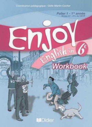 WORKBOOK ENJOY 6E WORBOOK  - DIDIER - 9782278058532 -