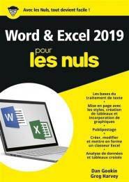 Word et Excel pour les nuls - First - 9782412043639 -