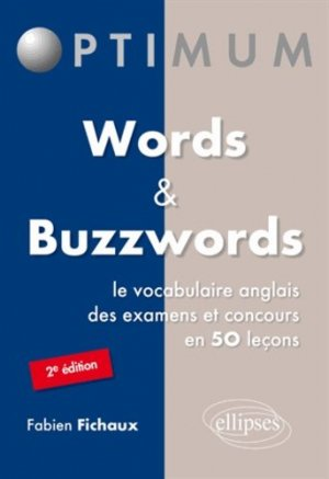 WORDS AND BUZZWORDS  - ELLIPSES - 9782729882402 -