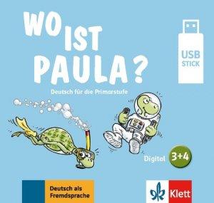Wo ist paula 3-4 - clé USB - maison des langues - 9783126052931 -