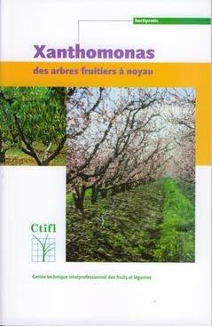 Xanthomonas des arbres fruitiers à noyau - ctifl - 9782879111766