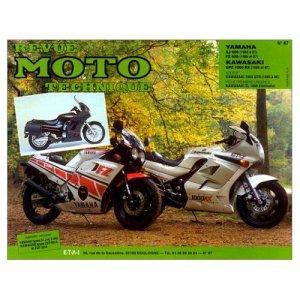 Yamaha XJ 600-FZ 600 / Kawasaki GPZ 1000 RX - etai - editions techniques pour l'automobile et l'industrie - 9782726890868 -
