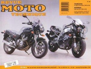 Yamaha XJ 600 S Diversion (1992 et 93) - Honda CBR 900 ( 1992 et 93) - etai - editions techniques pour l'automobile et l'industrie - 9782726890998 -