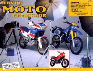 Yamaha TZR 125 (1987 à 1989) DT 125 R (1988) DT 200 R (1989) Honda XRV 650 ''Africa Twin'' (1988) - etai - editions techniques pour l'automobile et l'industrie - 9782726891179 -