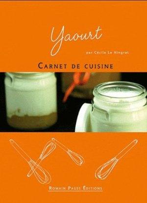 Yaourt - Romain Pages - 9782843503931 -