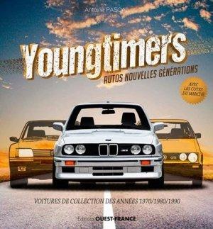 Youngtimers. Voitures de collection des années 1970/1980/1990 - Ouest-France - 9782737383823 -