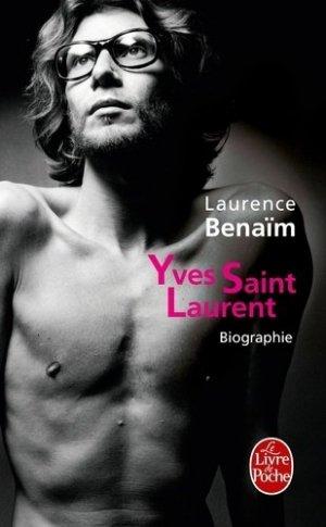 Yves Saint-Laurent - le livre de poche - lgf librairie generale francaise - 9782253137092 -