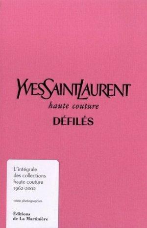 Yves Saint Laurent, haute couture, défilés - de la martiniere - 9782732489896 -