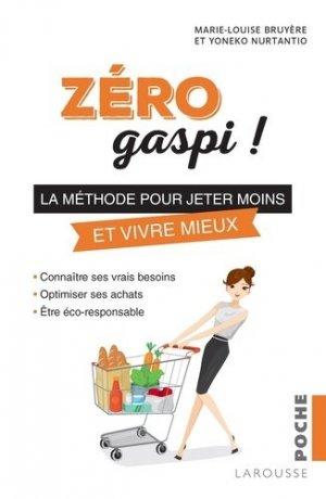 Zéro gaspi - larousse - 9782035936929 -