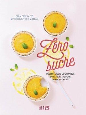 Zéro sucre - alternatives - 9782072782237 -