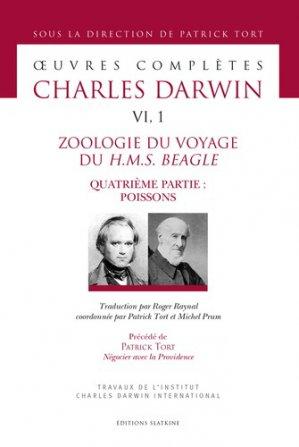 Zoologie du voyage du H.M.S. Beagle - slatkine - 9782051028356 -