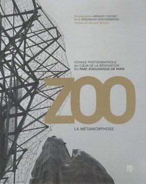 ZOO La métamorphose - somogy - 9782757207482 -