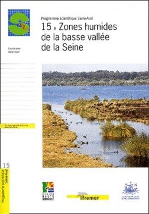 Zones humides de la basse vallée de la Seine - ifremer - 9782844330772 -
