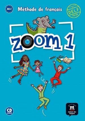 Zoom 1 A1.1 Méthode de français - Difusión - 9788416657513 -
