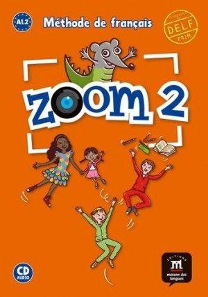 Zoom 2 A1.2 Méthode de français - Difusión - 9788416657988 -