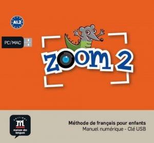 Zoom 2 - Méthode de français pour enfants - maison des langues - 9788417249090 -
