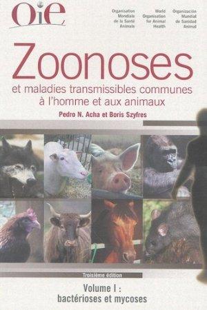 Zoonoses et maladies transmissibles communes à l'homme et aux animaux PACK 3 Volumes - oie - 9789290446316 -