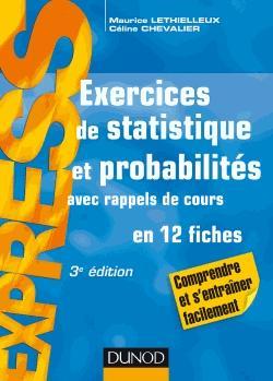 Exercices de statistique et probabilités Avec rappels de ...
