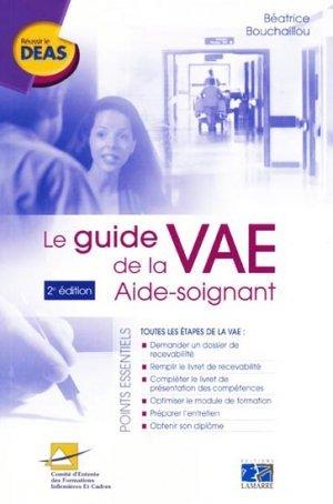 Le Guide De La Vae Aide Soignant Beatrice Bouchaillou Lamarre