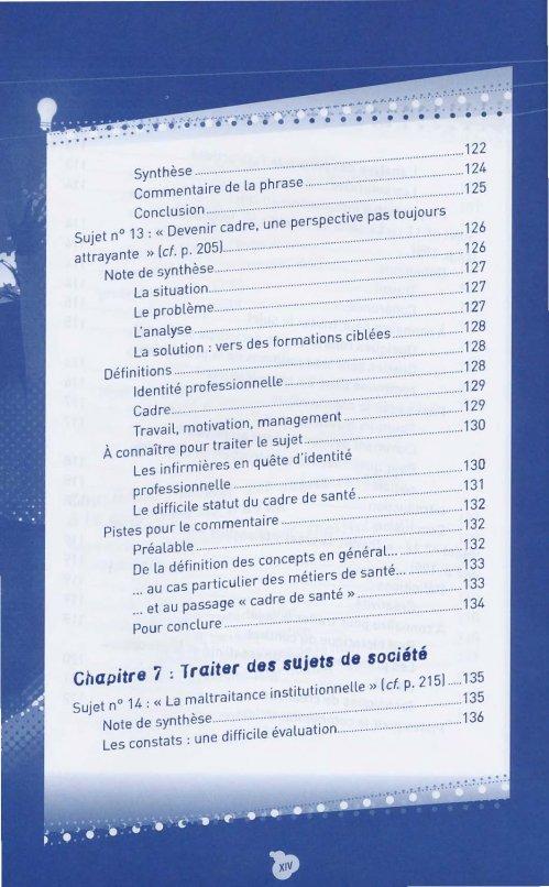 devenir cadre de sant 233 fran 231 oise bouchaud 9782757308172 lamarre concours cadre de sant 233