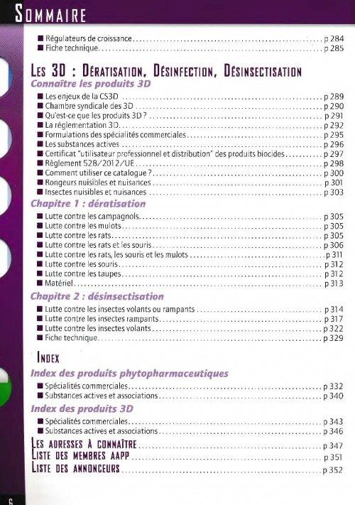 Guide phytopharmaceutique en z n a et des 3d d ratisation for Horticulture et paysage