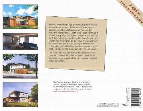 Construire sa maison container s bastien chevriot lise for Livre construire sa maison container