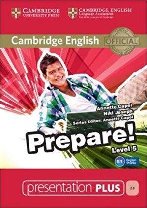 Cambridge English Prepare! Level 5 - Presentation Plus DVD