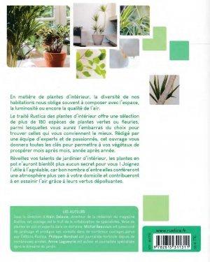 le trait rustica des plantes d 39 int rieur alain delavie 9782815311311 rustica trait plantes. Black Bedroom Furniture Sets. Home Design Ideas