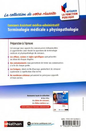 Terminologie m dicale et physiopathologie annie godrie - Grille indiciaire assistant medico administratif ...