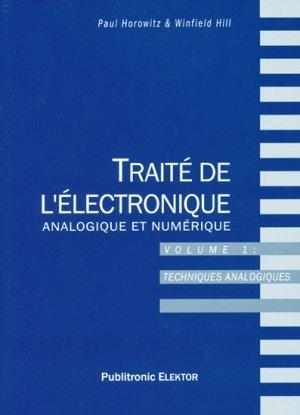 Traite De L Electronique Analogique Et Numerique Volume 1 Techniques Analogiques