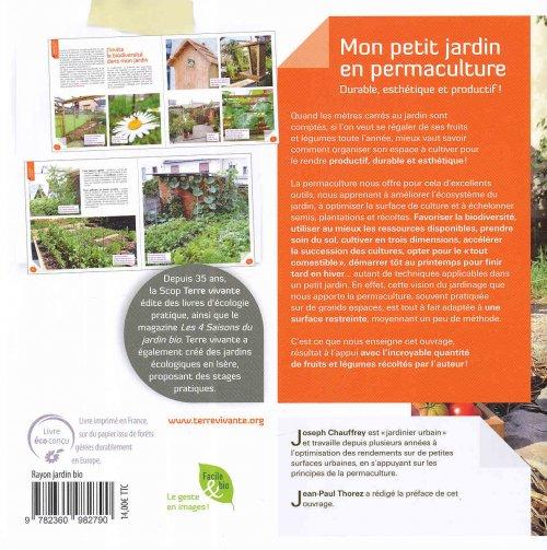 Mon petit jardin en permaculture joseph chauffrey for Jardin urbain permaculture