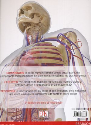 le grand guide visuel du corps humain  dr alice roberts  9782744066665 pearson  anatomie