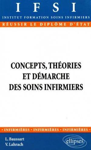 Concepts Theories Et Demarche De Soins Infirmiers