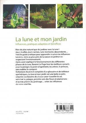 La lune et mon jardin rosenn le page 9782737366741 ouest france jardins - Lune montante et descendante ...