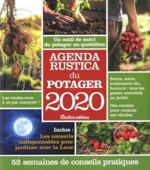 Calendrier Lunaire Septembre 2020 Rustica.Agenda Rustica Du Potager 2020 52 Semaines De Conseils Pratiques
